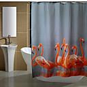 halpa Suihkuverhot-Suihkuverhot Moderni Polyesteri Tehty koneellisesti Vedenkestävä Kylpyhuone