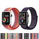 זול מדי לחץ אוויר לצמיגים-ניילון לולאה רצועת הלהקה wristband פרק כף היד עבור Apple סדרה סדרה 4/3/2/1 שעון חכם