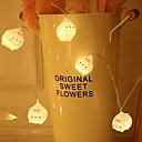 זול חוט נורות לד-3m החיה מחרוזת האורות 20 מדים חם לבן חג מסיבת השינה דקורטיביים 5 v 1 סט