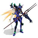 halpa Anime-figuurit-Anime Toimintahahmot Innoittamana NeonGenesis Evangelion D.Va PVC 17 cm CM Malli lelut Doll Toy