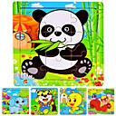 hesapli puzzle-Yapboz Ahşap Yapbozlar Eğitici Oyuncak Ayı Panda Deniz hayvanı Hayvanlar Ahşap Karikatür Unisex Oyuncaklar Hediye