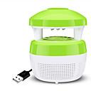 זול אוהד-1pc מנורת עיטור / LED לילה אור / אור לילה פנימי כחול USB יצירתי / חרק זבוב יתוש רוצח / דוחה יתושים