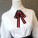 זול שרשראות-עניבת פפיון - קולור בלוק מסיבה / פעיל / סגנון חמוד בגדי ריקוד גברים / בגדי ריקוד נשים
