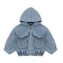 זול בגדי ריקוד לילדים-חליפה ובלייזר אחיד פעיל / בסיסי בנות ילדים
