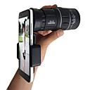 hesapli CCTV Kameralar-16x52 yüksek güç hd monoküler teleskop lens çift odak tüm açık hava etkinlikleri için gece görüş ile prizma kapsamı