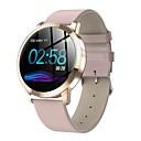 Недорогие Умные браслеты-SF08 Мужчины Смарт Часы Android iOS Bluetooth Водонепроницаемый Сенсорный экран Пульсомер Измерение кровяного давления Спорт