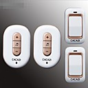 זול מצלמות חוץ רשת IP-עצמי יצירת שני גרר שני פעמון הדלת הביתית אלחוטית למים ללמוד קוד הדלת ללא סוללה