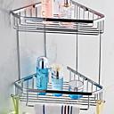 זול מדפי מקלחת-צדף לחדר האמבטיה יצירתי / רב שימושי עכשווי מתכת 1pc מותקן על הקיר