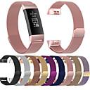 povoljno Namještaj za kampiranje-Pogledajte Band za Fitbit Charge 3 Fitbit Preklopna metalna narukvica Nehrđajući čelik Traka za ruku