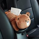זול מדי לחץ אוויר לצמיגים-רכב תליון המושב האחורי סוג רכב צל בלוק קריקטורה חמוד פנים אוטומטי אביזרים תיבת רקמות