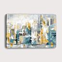 halpa Tulosteet-Painettu Pingoitetut kanvasprintit - Abstrakti Arkkitehtuuri Moderni Art Prints
