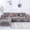 رخيصةأون غطاء-غطاء أريكة دمشقي / كلاسيكي / عصري طباعة متفاعلة بوليستر الأغلفة