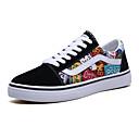 hesapli Erkek Sneakerları-Unisex Ayakkabı Kanvas / PU Sonbahar / İlkbahar yaz Günlük Spor Ayakkabısı Günlük için Sarı / Kırmzı