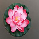 hesapli Yapay Çiçekler-Yapay Çiçekler 1 şube Klasik Modern Çağdaş minimalist tarzı Lotus Yer Çiçeği