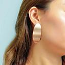 abordables Parure Bijoux-Femme Boucles d'oreille Clou Géométrique Elégant unique Mode Des boucles d'oreilles Bijoux Dorée Pour Soirée Quotidien Festival 1 paire