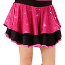 זול דלת חומרה & מנעולים-ריקוד לטיני חלקים תחתונים בגדי ריקוד נשים הדרכה / הצגה פוליאסטר / מילק פייבר נצנוץ / מפרק מפוצל / שכבות גבוה חצאיות