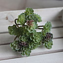 hesapli Yapay Bitkiler-Yapay Çiçekler 1 şube Klasik Modern Çağdaş Sulu bitkiler Masaüstü Çiçeği