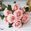 זול צמחים מלאכותיים-פרחים מלאכותיים 1 ענף קלאסי מודרני פרחים נצחיים פרחים לשולחן