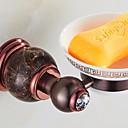 זול טסטרים וגלאים-סבון כלים & מחזיקים יצירתי עכשווי פליז 1pc מותקן על הקיר