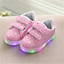 povoljno Haljine za djevojčice-Dječaci / Djevojčice Eko koža / PU Sneakers Dijete (9m-4ys) / Velika djeca (7 godina +) Svjetleće tenisice Hodanje LED Obala / Crn / Pink Proljeće / Ljeto