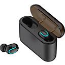 זול אוזניות אלחוטיות אמיתיותTWS-אוזניות בינאורליות טווס אלחוטי הידיים ללא ספורט אטמי אוזניים