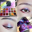 hesapli Göz Farları-18 renkler duochrome lazer polarize 18 renkler göz farı makyaj paleti yüksek parlaklık glitter pırıltılı göz farı paleti