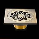お買い得  排水口カバー-排水口金具 新デザイン / 多機能 コンテンポラリー 真鍮 1個 床取付け