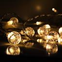 povoljno Stolne svjetiljke-3M Savitljive LED trake / Smart Lights 10 LED diode 1 x PIR osjetnik Toplo bijelo / Hladno bijelo Kreativan / Ukrasno / Samoljepljiva Baterije su pogonjene 1pc