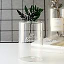 זול אדרטלים & סל-2pcs אגרטלים וסל זכוכית אגרטל שולחן