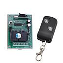 זול חפצים דקורטיביים-dc12v 2ch קוד למידה ממסר מתג / 10a מקלט ממסר / חכם מתג הפעלה / כיבוי בקר 433mhz רגע עבודה עובד