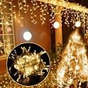 halpa LED-hehkulamput-uk pistoke 3m * 3m 300 ledit jääkiekon verho valot dip led lämmin valkoinen osapuoli / koriste / häät 220-240 v 1kpl