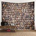 halpa Seinämaalaukset-Puutarha-teema / Satu-teema Wall Decor 100% polyesteri Moderni Wall Art, Seinävaatteet Koriste