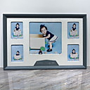 halpa Kuvakehykset pöydälle-Moderni nykyaikainen Puu Peilikiillotettu Kehykset, 2pcs