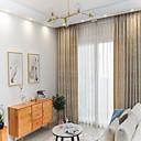 זול וילונות חלון-בהזמנה אישית בעיצוב דו-צדדי אקארד שניל אירופאי פרטיות אירופאי שני פנלים וילונות חדר שינה / חדר אוכל