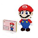 זול Building Blocks-אחי סופר מריו לואיג'י צעצועי minifigures לבני מודל סטי אבני בניין דמויות מריו אין קופסא מקורית