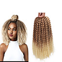 """זול צמות שיער-שיער קלוע מתולתל צמות טוויסט אפר קינקי צם צמות מתולתלות שיער סינטטי 1pack שיער צמות צבע טבעי 12"""" סינטטי צמות הסרוגה עם שיער האדם שיער אומבר יום הולדת צמות אפריקאיות"""