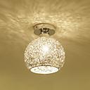 povoljno Flush Mount rasvjeta-aluminijska stropna svjetiljka globus ugraditi stropne svjetiljke ambijentalna svjetlost galvansko metalno plafonsko svjetlo za hodnik trijema