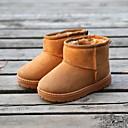 halpa Lasten saappaat-Tyttöjen Mokkanahka Bootsit Pikkulapset (4-7 vuotta) Talvisaappaat Musta / Fuksia / Kahvi Talvi / Nilkkurit