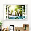 halpa Seinämaalaukset-joki vesiputous seinä tarroja - eläin seinä tarroja eläimet / maiseman tutkimushuone / toimisto / ruokasali / keittiö