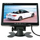 זול מצלמת מראה אחורי לרכב-Ziqiao 7 אינץ 'tft lcd תצוגת רכב מערכת חניה צג מבט אחורי לרכב לרכב / אוטובוס / משאית hk ממשק