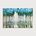 hesapli Soyut Resimler-Hang-Boyalı Yağlıboya Resim El-Boyalı - Soyut Manzara Modern Iç çerçeve dahil