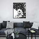 hesapli Tablolar-Çerçeveli Sanat Baskısı Çerçeve Seti - İnsanlar Pop Art Polisitren Fotoğraf Duvar Sanatı