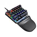 hesapli Klavyeler-litbest k27 mekanik klavye 27 tuş tek elle oyun klavyesi