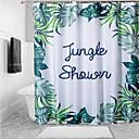 halpa Suihkuverhot-Suihkuverhot Kantri Polyesteri Tehty koneellisesti Vedenkestävä Kylpyhuone