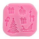 זול עוגיות כלי-1pc סיליקון גומי חג המולד כלים חדישים למטבח כלי קינוח כלי Bakeware