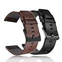 Недорогие Мужские браслеты-Ремешок для часов для Gear S3 Frontier / Gear S2 Samsung Galaxy Спортивный ремешок Натуральная кожа Повязка на запястье