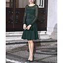 povoljno Ženske sandale-Žene Elegantno A kroj Haljina Jednobojni Iznad koljena