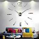 """זול שעוני קיר-שעון קיר, אופנה נירוסטה אקריליק נירוסטה מקורה 70 * 140 ס""""מ (28&ציטוט * 55&ציטוט;)"""