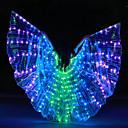 povoljno Egzotična plesna odjeća-Oprema za ples Izidina krila Žene Seksi blagdanski kostimi Terilen LED