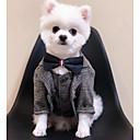 זול חול מתגבש לחתולים & מפה לגירוד-כלבים חתולים מעילים חליפת ערב בגדים לכלבים אחיד שחור חאקי polyster תחפושות עבור קיץ חתונה